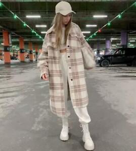 H-amp-M-OVERSIZED-Long-Shirt-Jacket-Shacket-Coat-Plaid-Isabel-Marant-Style