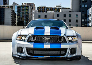 Ford Mustang Classic Car Giant Poster Art Print A0 A1 A2 A3 A4 Sizes