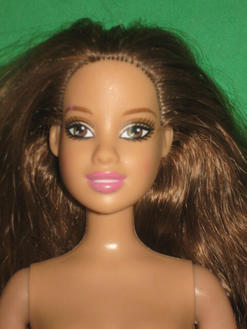 HISPANIC BARBIE-BROWN EYES- BROWN HAIR-NUDE