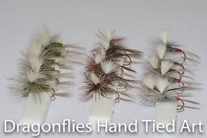 18-Dry-Trout-fishing-Parachute-Flies-Adams-Blue-Winged-Olive-amp-Iron-Blue-Dun