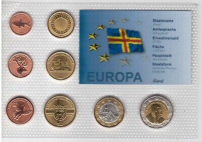 COLORED BIMETAL 2 EURO UNC COIN 2015 YEAR JEAN SIBELIUS FINLAND