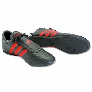 ON SALE!! Adidas Martial Arts, Karate, Training, Practice, Shoes BLACK with RED