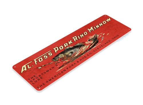 GLACOIDE B800 Al Foss porc croûte Minnow Lure Pêche Appât Rétro Boîte Tackle Fish