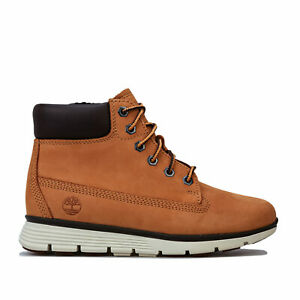 Children-Boys-Timberland-Killington-6-Inch-Boots-In-Wheat-Lace-Fastening
