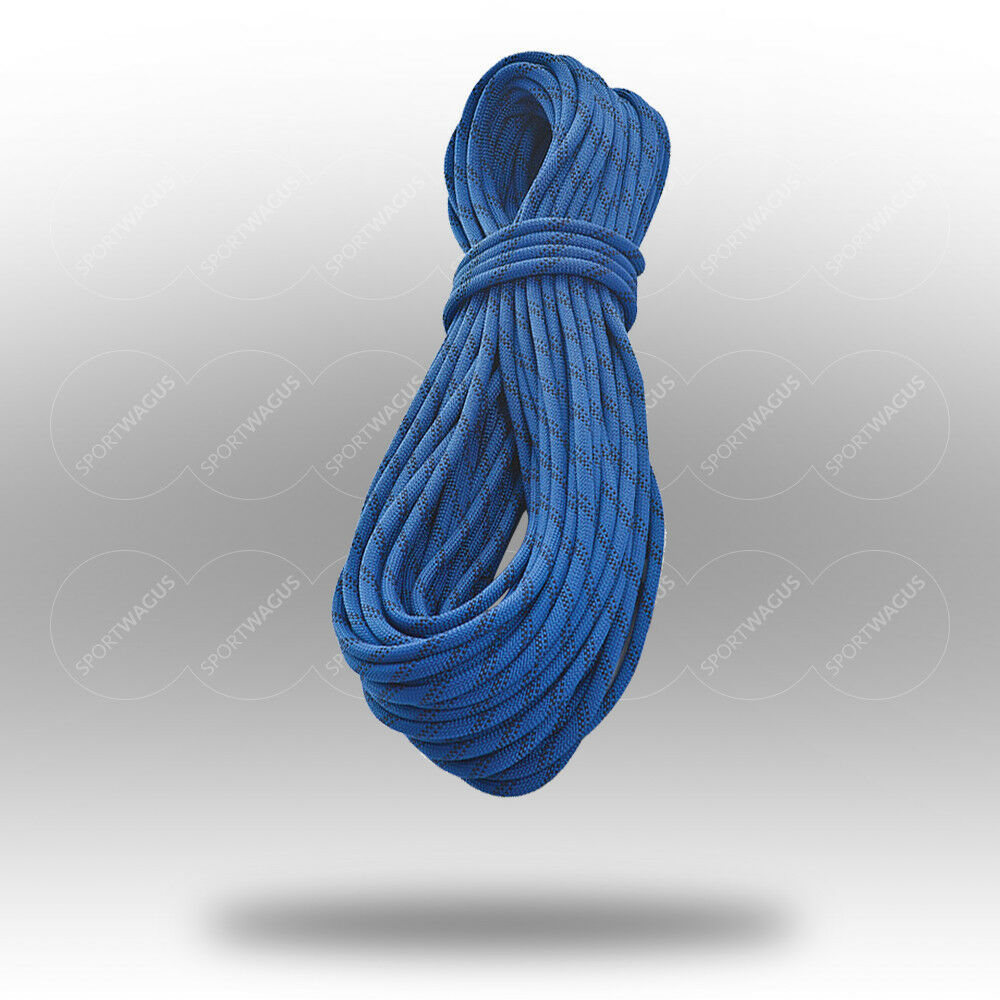 Statikseil 1cm 10mm 31000N blau Kletterseil Meterware  10 20 30 40 50 60 70 ...