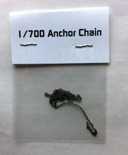30cm Model Ship Anchor Chain Link Brass Spare Parts Black Accessory 1//700 Scale