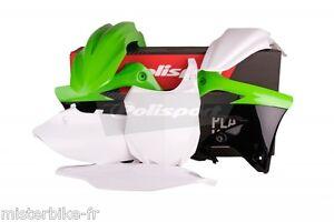 Kit-plastiques-Coque-Polisport-Kawasaki-KX450F-2013-2015-Couleur-Origine