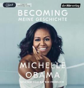 Michelle Obama Becoming meine Geschichte 2 Mp3 CDs