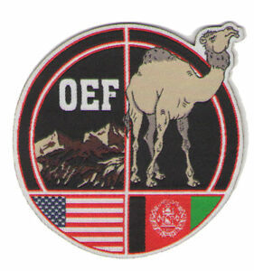 Militar-Afghanistan-Parche-Oef-Manejo-Enduring-Freedom-Camello-US-Bandera-USA