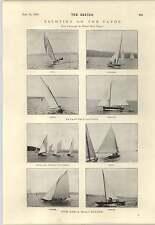 1894 el señor Albert D Vandam con perro Clyde Yachting 17 evaluadores