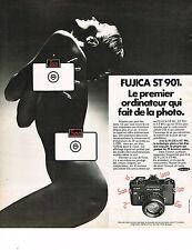 PUBLICITE ADVERTISING  1975   FUJICA  ST 901   appareil photo