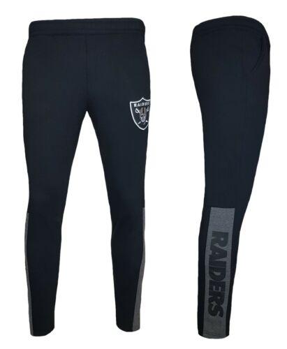 NFL Oakland Raiders Jog Pants Mens Tracksuit Bottoms Joggers Official Apparel