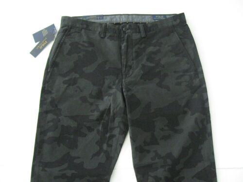 Lauren 190760694837 Bedford Chino Fit Straight Stretch Polo Ralph Black Camo Pants34x32 Menns 7C5x5Uwqa