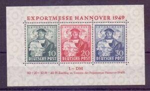 Bizone-1949-Exportmesse-Block-1-postfrisch-Michel-140-00-000