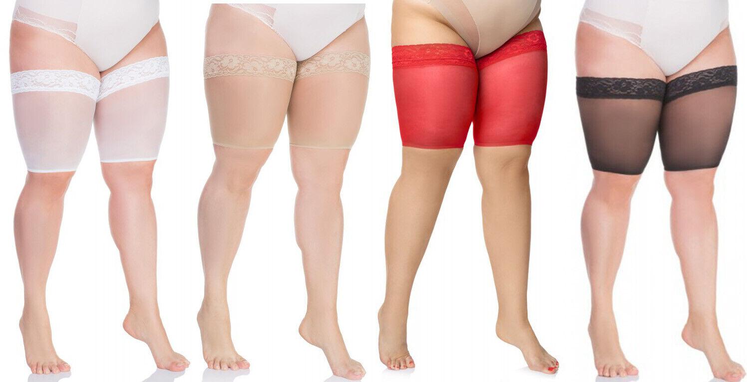 Oberschenkel Bänder Scheuern Oberschenkelschoner 20DEN Anti Reiben Lace Thigh