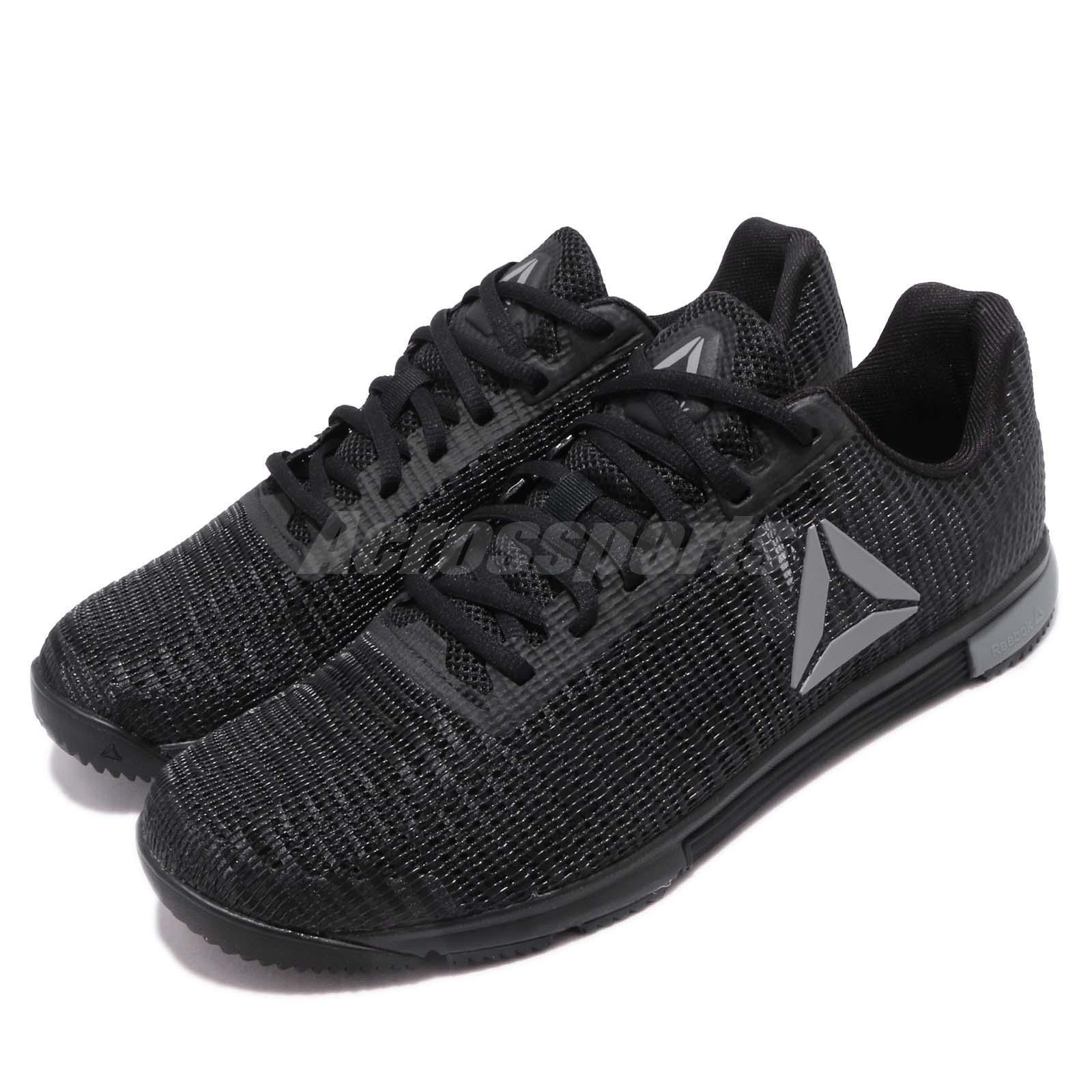 Reebok Speed TR Flexweave negro gris Men Cross Training zapatos zapatillas DV4403