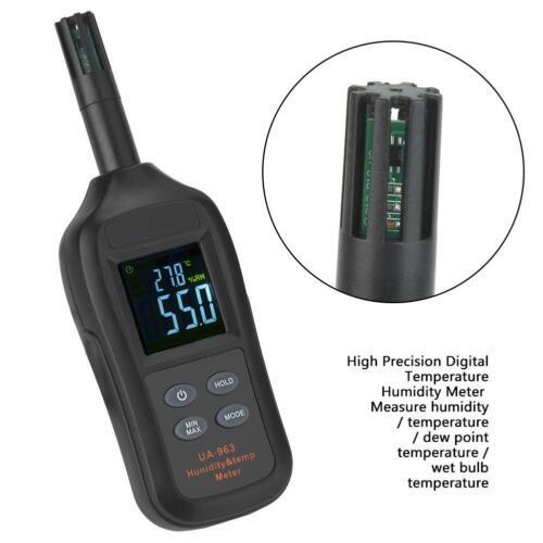 UA963 Digital LCD Temperatur Luftfeuchtigkeitsmesser Thermometer Hygrometer