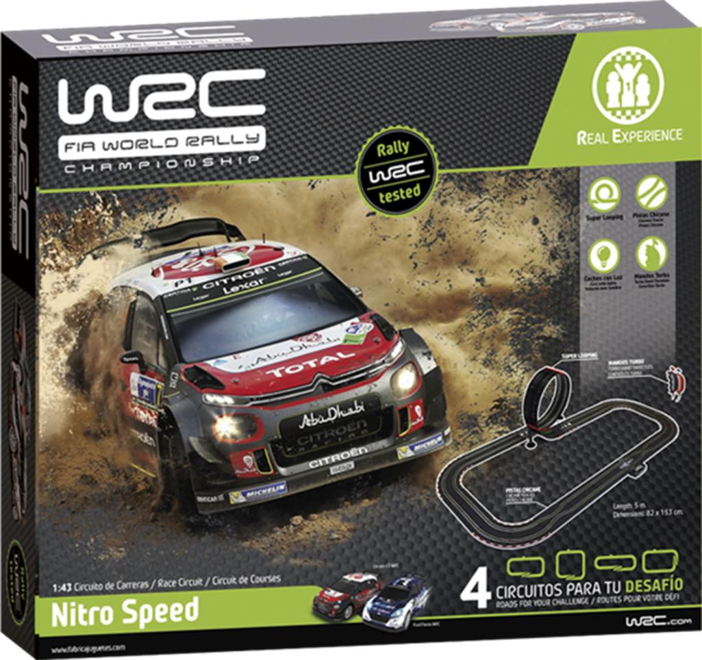 WRC Nitro Velocidad Rally Juego 1 43 Escala 91004 Nuevo a Mercado