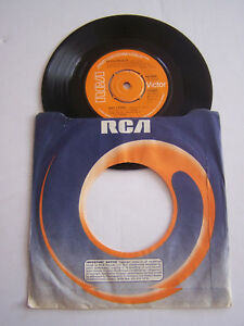 RECORD-7-034-45-T-VINYL-JUKE-BOX-ELVIS-PRESLEY-WAY-DOWN-RCA-0998-1977