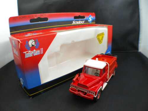 Solido 3125 camion  Pompiers ACMAT feux forêts Morbihan neuf en boite
