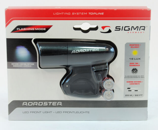 SIGMA SPORT Roadster LED Bicycle Front Light