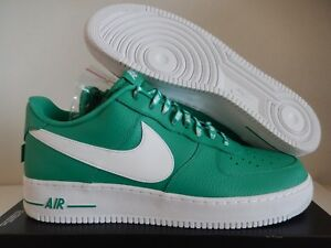 quality design 52634 a677b Image is loading NIKE-AIR-FORCE-1-07-LV8-GREEN-034-