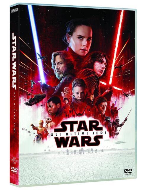 dvd nuovo sigillato film ultimo saga di Star Wars:Gli Ultimi Jedi vers italiana