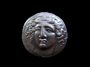 Grecque-Antique-Thessalie-Larissa-Drachme-Reamorcage
