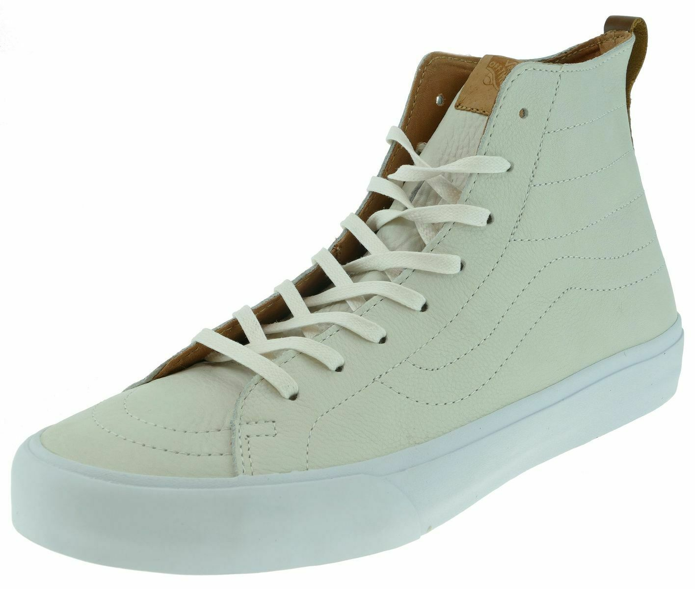 Vans sk8-hi lance CA California collection Premium Leather hiver blanc taille 44