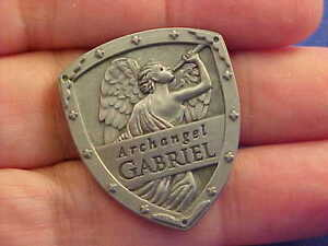 ARCHANGEL-ST-GABRIEL-Pocket-Token-Protection-Saint-Medal-SHIELD-By-Angel-Star
