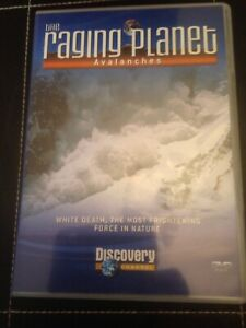 THE-RAGING-PLANET-AVALANCHES-DISCOVERY-CHANNEL-BRAND-NEW
