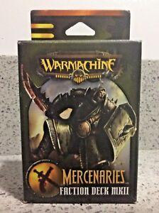 DernièRe Collection De Warmachine-mercenaries 2010 Faction Deck Mkii-nouveau/scellé-afficher Le Titre D'origine