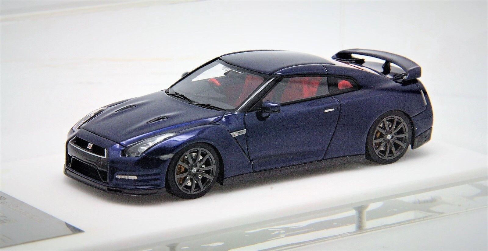 1  43 Davis Giovanni Nissan R35GTR Premium Ed Daytona blå fri Shipping   MR BBR