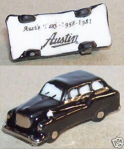 Charm Rare Austin Taxi Noir Anglais 1958-1981 Feve Porcelaine 3d 1/200 Neuf Vzrqrcry-08005739-176356008
