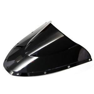 Black-Screen-Double-bubble-Bike-Windshield-For-2005-2006-Ducati-749-999-Biposto