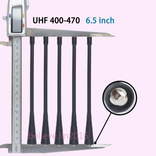"5x PMAE4016 UHF Antenna 6.5"" For Motorola GP360 GP380 GP680 SP50 HT750 HT1250"