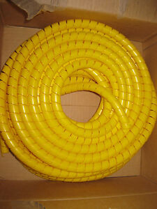 Hydraulic Hose Spiral Wrap Guard 1824mm Forestry Tractor crane digger excavator - Richmond, North Yorkshire, United Kingdom - Hydraulic Hose Spiral Wrap Guard 1824mm Forestry Tractor crane digger excavator - Richmond, North Yorkshire, United Kingdom