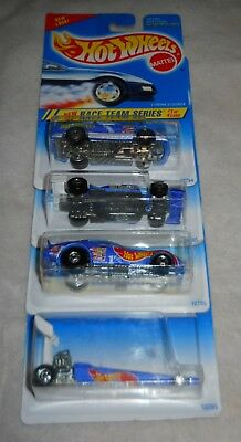 The whole Set 3//3 Collectable Hot Wheels Series in honor of Nico Rosberg