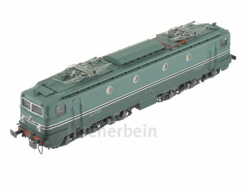 Ree-models mb077 SNCF 6 alineación récord mundial e-Lok cc7100 Hell - verde oscuro ep3 nuevo + embalaje original