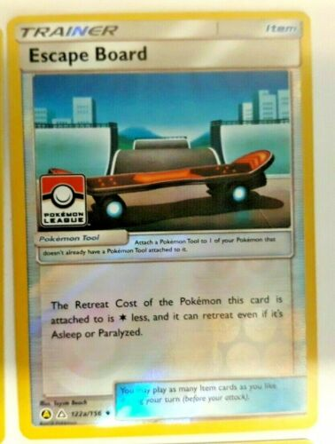 Acro Bike /& Fiery Flint Alt Art Trainer Card Pokemon League Promo Escape Board