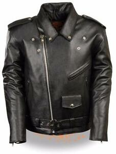 Milwaukee Leather Men S Classic Side Lace Police Style