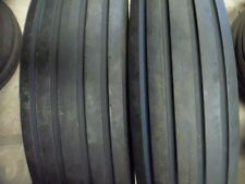 Two 750 16750x16750 16750x16 Rib Implement Discwagon Tractor Tires Withtubes