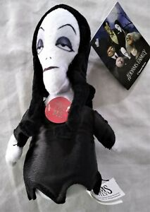 The-Addams-Family-Morticia-6-034-Squeezer-Plush-Doll-Toy-Plays-Theme-Song-2019-New