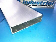 6063 T52 Aluminum Rectangle Tube 1 12 X 6 X 12 Long X 18 Wall New