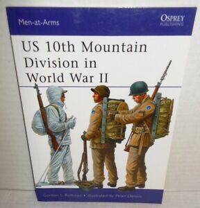 BOOK-OSPREY-Men-At-Arms-MAA-482-US-10th-Mountain-Division-in-WW2-1st-Ed-2012