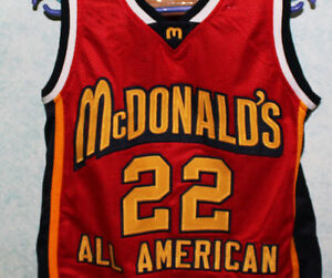 Details about CARMELO ANTHONY McDONALDS ALL AMERICAN JERSEY AUTHORIZED McDONALD SEWN ANY SIZE