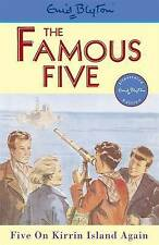 Five on Kirrin Island Again (Famous Five), By Enid Blyton,in Used but Acceptable