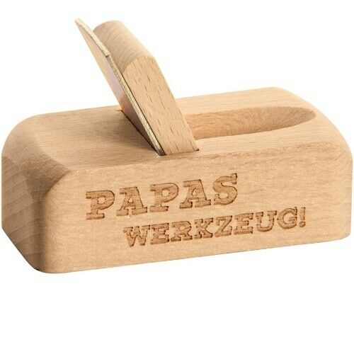 """Flaschenöffner Hobel /""""Papas Werkzeug /"""""""