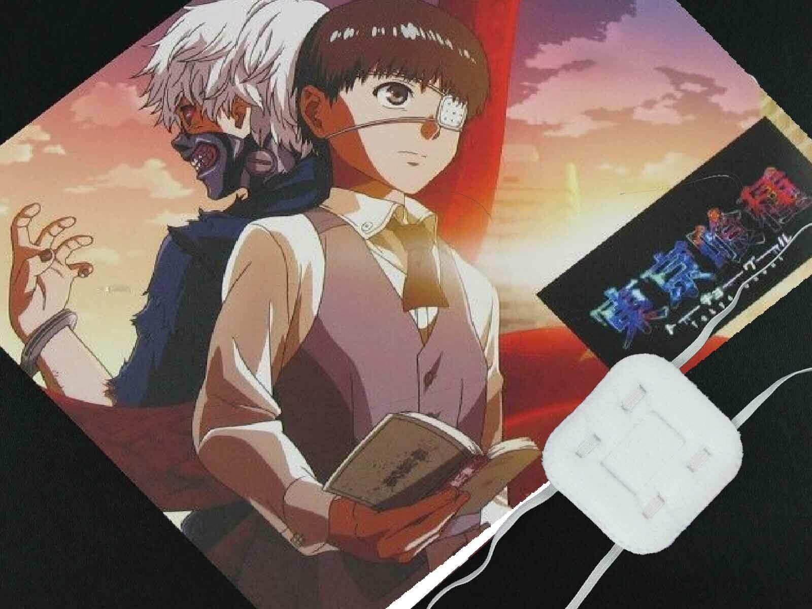 Anime Tokyo Ghoul Kaneki Blinder Weiße Augenklappe Einäugige Maske Cospldd ML