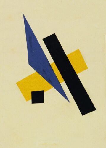 Untitled 1917 Lyubov Popova Suprematism Avant-Garde Poster